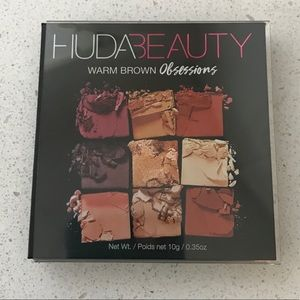 Huda Beauty Warm Brown Obsession Eyeshadow Palette